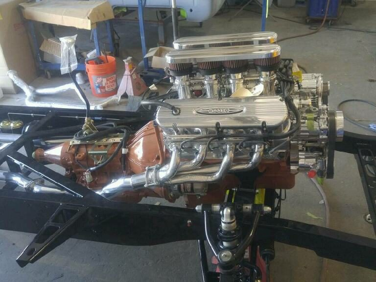 Roush 427IR engine